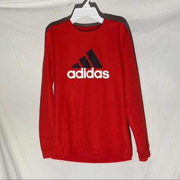 Boys Adidas Long Sleeve  Size M